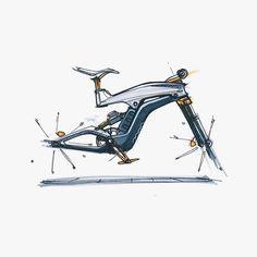 Motorbike Design, Bicycle Design, Bicycle Sketch, Eletric Bike, Bike Photography, Industrial Design Sketch, Bike Frame, Transportation Design, Automotive Design