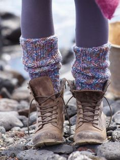 like these leg warmers & boots. Flashback to the 80's!