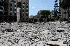 Targeting the Islamic University of #Gaza by IOF #GazaUnderAttack  #ICC4Israel  استهداف الجامعة الإسلامية #غزة عدستي pic.twitter.com/45L8u8eDNv