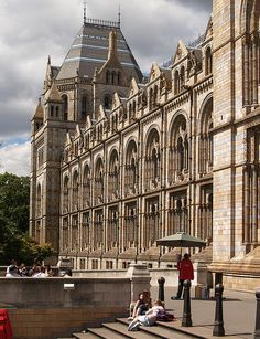 Natural History Museum,London by Hayley Jarvis Natural History Museum London, London History, Monuments, London Architecture, Classical Architecture, London Museums, London Places, Beautiful London, England And Scotland
