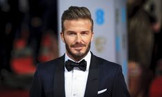 David Beckham stole the show on the red carpet at the British Film Academy Film Awards on Sunday evening as he turned up to present an award at The Royal Opera House in London's Covent Garden.