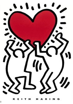 ... and this will be the second tatoo... untiled 1987, Keith Haring