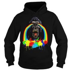 Rainbow Cry From Gorilla, 80s Colorful Splash Design #gift #ideas #Popular #Everything #Videos #Shop #Animals #pets #Architecture #Art #Cars #motorcycles #Celebrities #DIY #crafts #Design #Education #Entertainment #Food #drink #Gardening #Geek #Hair #beauty #Health #fitness #History #Holidays #events #Home decor #Humor #Illustrations #posters #Kids #parenting #Men #Outdoors #Photography #Products #Quotes #Science #nature #Sports #Tattoos #Technology #Travel #Weddings #Women