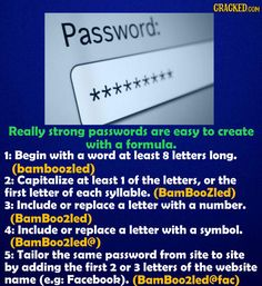 safety tips tech strong password