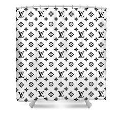 Tufted Bed Frame, Sugar Skull Decor, Louis Vuitton Pattern, Bathroom Mat Sets, Unique Paintings, Curtains For Sale, Custom Shower Curtains, Bathroom Interior Design, Tag Art