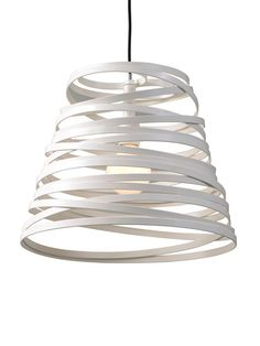 """Studio Italia """"Curl My Light"""" Pendant by Russian designer Dima Loginoff, $1000"""