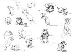 Kelly Murphy Illustration   Secrets At Sea I CHARACTER DESIGN REFERENCES   Find more at https://www.facebook.com/CharacterDesignReferences if you're looking for: #art #character #design #model #sheet #illustration #best #concept #animation #drawing #archive #library #reference #anatomy #traditional #draw #development #artist #how #to #tutorial #rat #rats #mouse #mice