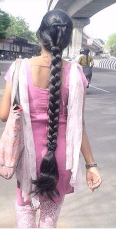 Beautiful Girl Dance, Beautiful Braids, Gorgeous Hair, Open Hairstyles, Indian Hairstyles, Girl Hairstyles, Black Hair Video, Long Black Hair, 10 Most Beautiful Women