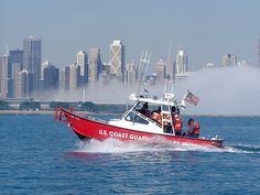 clf-4 Chicago Lake, Lake Front, Boat, Dinghy, Boats, Ship