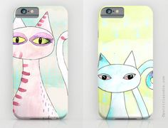 Behance :: Editing Cats Collection - Iphone Cases