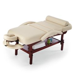 """Supremacy Stationary Professional Massage Table   Weight Limit 2500 lbs   30"""""""