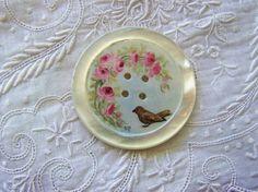 MOP hand painted little bird