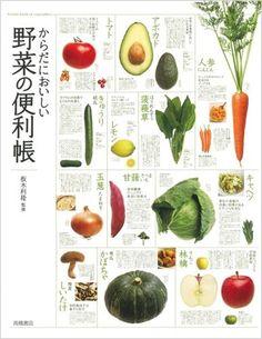 坂木 利隆 : からだにおいしい 野菜の便利帳 | Sumally