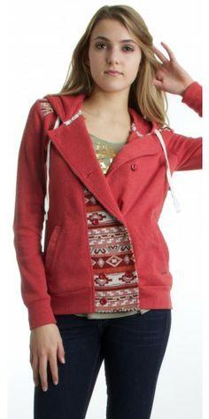 Element League Fleece Jacket in Terra - Urban Laundry (urbanlaundry.com)