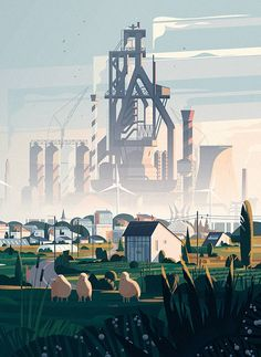 <p>French illustrator and graphic designer Marie-laure Cruschi founded her Paris based creative studio in 2007 with the hope to continuously experiment and explore new areas. We discovered her work wh