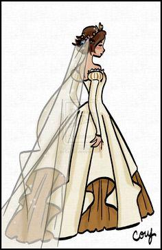 Rapz Wedding Dress Back