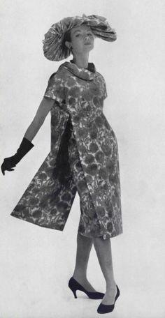 1956 - Christian Dior floral dress