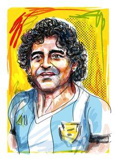 Maradona by Nick Oldham