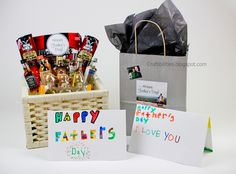 Father's Day grabbags/basket of fun goodies