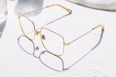 Sterre eyeglasses in Gold Color | Optical | TIJN Eyewear – Shop Prescription Eyeglasses & Blue Light Filter Glasses Online Prescription Glasses Frames, Prescription Lenses, Rose Gold Color, Silver Color, Eyewear, Color Shapes, Sunglasses Online, Reading Glasses, Ultra Violet