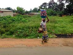 Roadside Vendor, Segbohoue, Atlantique Department, Benin, #JujuFilms