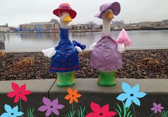 It's raining, it's pouring, Miles & Alberta are… hoping April showers bring May flowers.