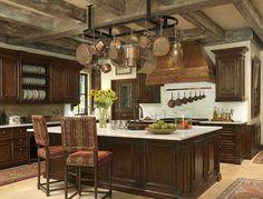 Rustic Kitchen. Perfect Rustic Kitchen Design! #Rustic #Kitchen #Design