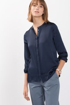 Midnight blue tunic