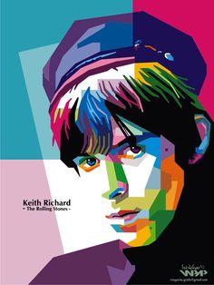 Keith Richard by istikhar on DeviantArt