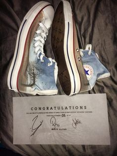 Biffy Clyro Converse. I WOULD GIVE A KIDNEY.