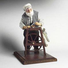 Nimet SANLIMAN. Bileyici Grinder Clay Dolls, Art Dolls, Old Folks, Dollhouse Dolls, Paper Clay, Minis, Handmade, Crafts, Hand Made