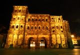 Porta Nigra Gate, Trier, Germany's oldest town. Once a Roman stronghold,