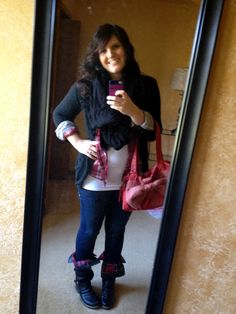 Pregnancy fashion:)