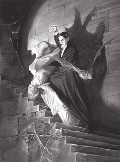 "Classic Universal Monsters' by Alex Ross. 24"" x..."