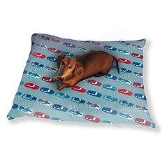 Uneekee Matchbox Cars Dog Pillow Luxury Dog / Cat Pet Bed