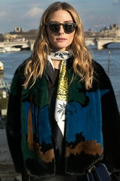 Photo Credit: Phill Taylor Hi guys! For the fifth day of PFW I wore an Elie Saab jacket and bag, a Hermes scarf all with a favorite pair of leather overalls I got from my last trip to Japan. Undern...