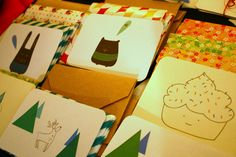 Hand-made cards by MI+ED design