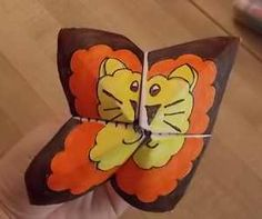 Lion Origami | Bible Songs And More, Daniel and the Lion's Den.... @Christina & West .....I am making these at a take home on Sunday