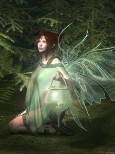 Fae Of The Woods By Emilie79.