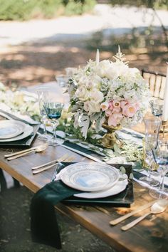 Photography : Fern Shin Photography Read More on SMP: http://www.stylemepretty.com/california-weddings/cherry-valley-california/2015/09/02/whimsical-olive-grove-wedding-styled-shoot/