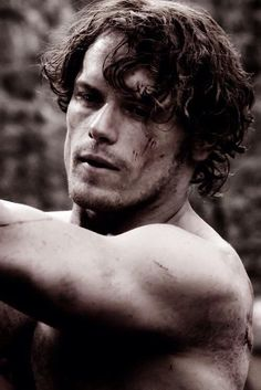 "Sam Heughan as Jamie Fraser ""Outlander"""