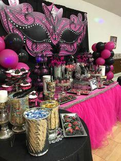 Masquerade Birthday Party Ideas | Photo 2 of 13