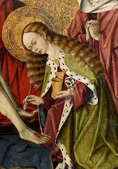 Magdalena detall de la pietat de Tarascon