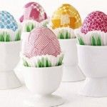 Crafty collection of over 50 + Fun Easter Egg Decorating Ideas   Most of the links have instructions for the projects.              Silk Dyed Easter Eggs         Botanical Découpage Eggs         Sharpie Doodle Easter Eggs         Some look for Easter eggs         fabric covered ...