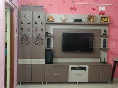 Living Room Partition Design, Pooja Room Door Design, Bedroom Door Design, Room Partition Designs, Bedroom Tv Unit Design, Tv Unit Furniture Design, Tv Unit Interior Design, Small House Interior Design, Bedroom Furniture Design