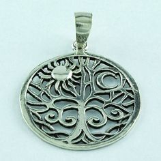 RAY OF BEAUTY DESIGN !! 925 STERLING SILVER PENDANT RETAILER JAIPUR SILVER INDIA #SilvexImagesIndiaPvtLtd #Pendant