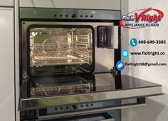 Need refrigerator & washing machine repair service in San Jose California? Work with the appliances repair experts. Call now and get services like never before. Oven Cleaner, Keep It Cleaner, Combi Oven, Best Refrigerator, Baking Soda Uses, Appliance Repair, Oven Cooking, Kitchen Equipment, Cleanser