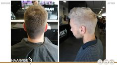 #haarvisie #haircolor #hairstyle #hairstyles2017 #white #olaplex #silver #men Haircolor, Hairstyle, Silver, Hair Color, Hair Job, Hair Style, Hairdos, Hair Dye, Hair Styles