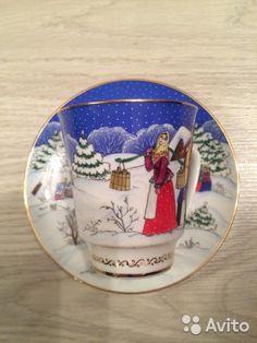 Чайные и кофейные пары лфз ручная роспись