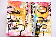 ML Design: Ink, Paint, Stamp & Paper Bliss: Mini Book Obsession